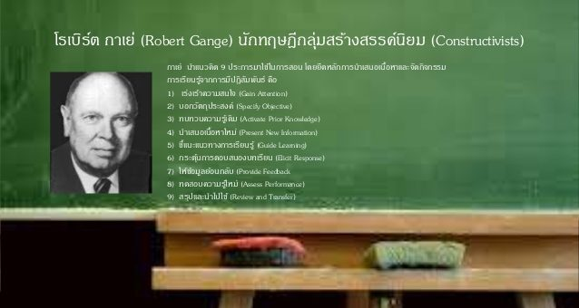 เรามาทำความรู้จักโรเบิร์ต กาเย่ และแนวความคิดของเค้ากัน